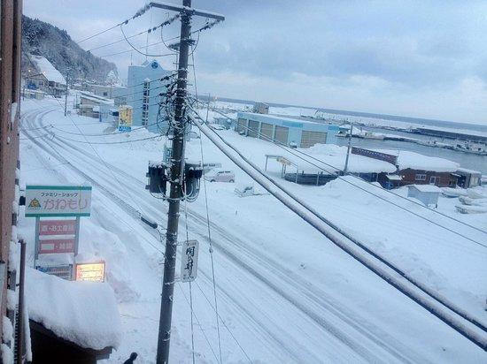 Kazamaura-mura, Japan: 部屋から見た外