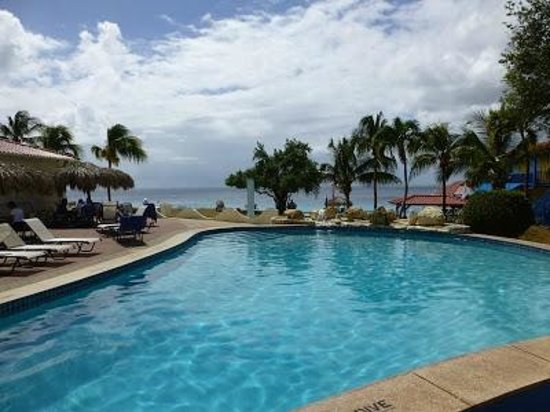 Divi Flamingo Beach Resort and Casino: One of the pools