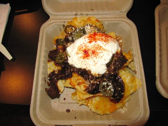 The Passenger : The pork cheek nachos