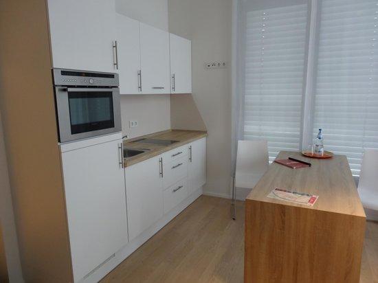 Schroeders Appartementhotel: Unser Zimmer