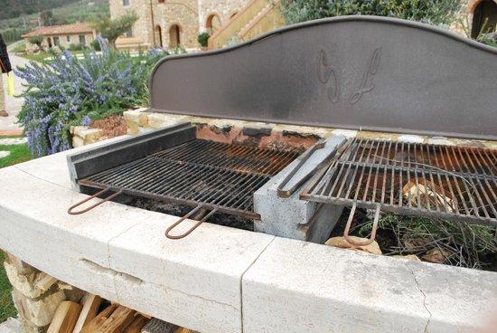 Agriturismo San Lorenzo: barbecue