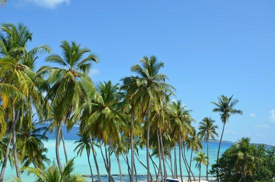 Kaani Beach Hotel: view