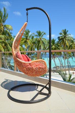 Kaani Beach Hotel: Roof terrace