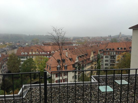 Hotel Allegro Bern: View from Penthouse Suite - terrace