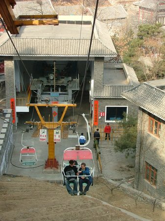 Chair Lift Picture Of Mutianyu Great Wall Beijing