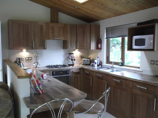 Parkdean - Tummel Valley Holiday Park: Kitchen