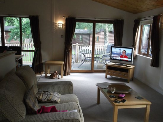 Parkdean - Tummel Valley Holiday Park: Living Area