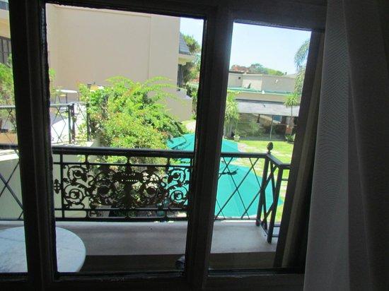 Belmont House: Vista desde el balcón