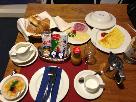 EMA House Hotel Suites: breakfast was good; but the only catering in-house to speak of