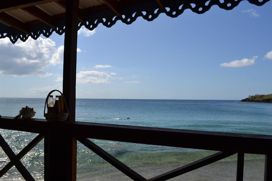 Ti Kaye Resort & Spa: view from beach bar