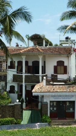 Ocean View Guest House: Belle maison vue sur mer
