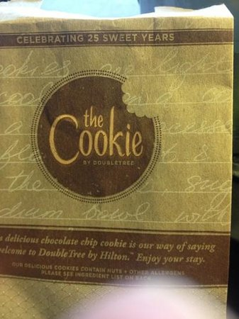 Park Vista - DoubleTree by Hilton Hotel - Gatlinburg: the cookies!