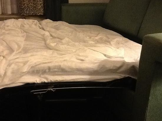 La Quinta Inn & Suites Melbourne Viera : Not your pillow top!