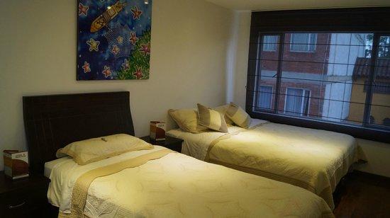 Hotel Santa Cruz Corferias: ambiente familiar