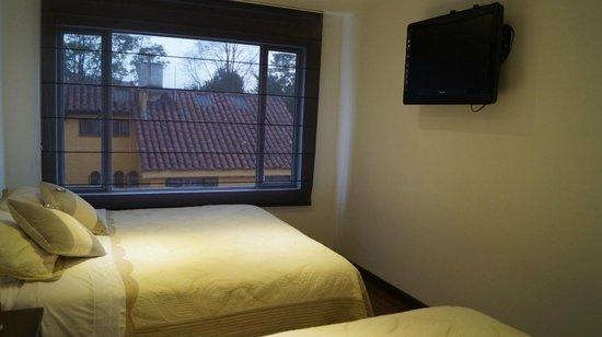 Hotel Santa Cruz Corferias: buena señal tv