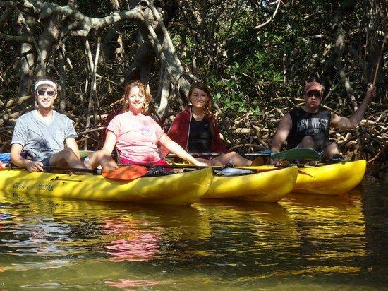 Shan-T Native Kayak Tours, Inc.: kayaking with Shan T