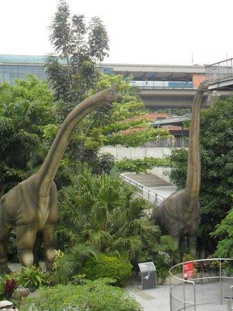 Parque Explora: dinosaurios