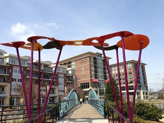 格林維爾市中心里弗普雷斯恒庭套房飯店照片