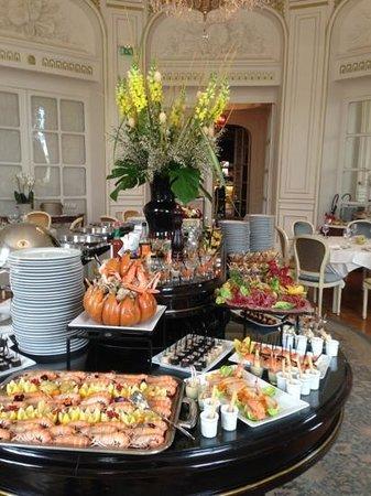 Restaurant L'Opéra : brunch de paques 2013