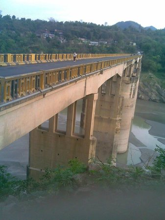 Bilaspur, Индия: highest bridge in asia