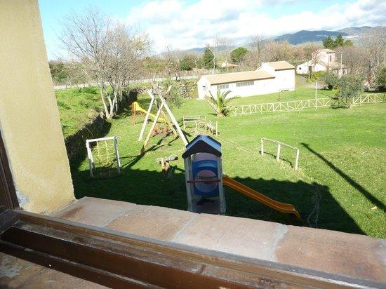 Borgo San Nicolao: View from room