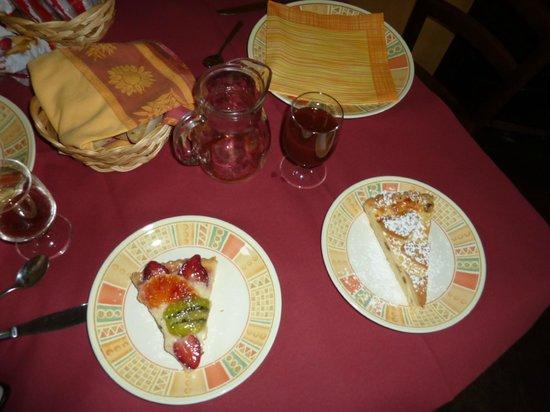 Borgo San Nicolao: Breakfast
