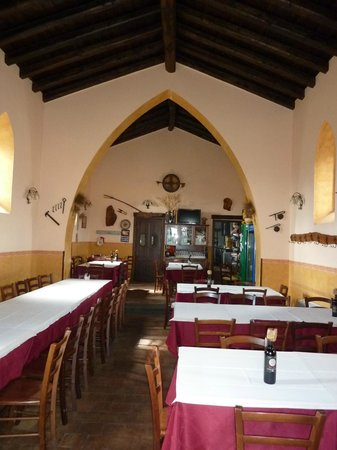 Borgo San Nicolao: Inside the dining room