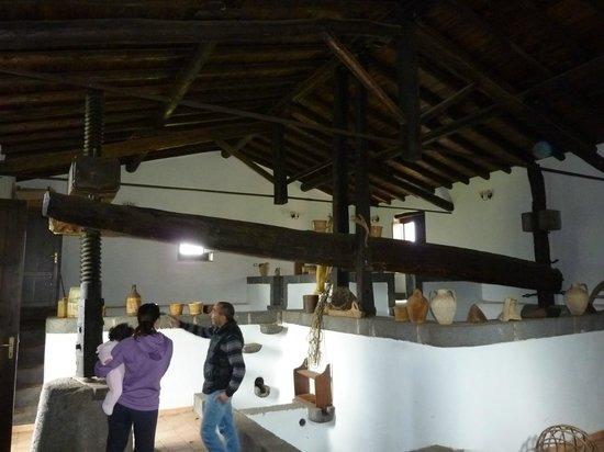 Borgo San Nicolao: Restored wine maker (grape pressor) - in working order
