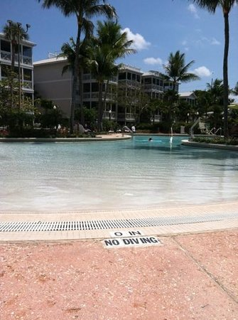 Hyatt Beach House Resort: wade in pool