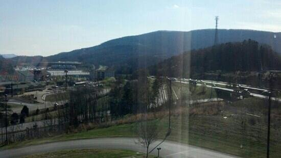 Fairfield Inn & Suites Chattanooga I-24/Lookout Mountain : views from room