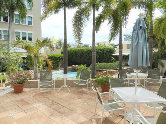 Doubletree by Hilton San Juan: Our Patio
