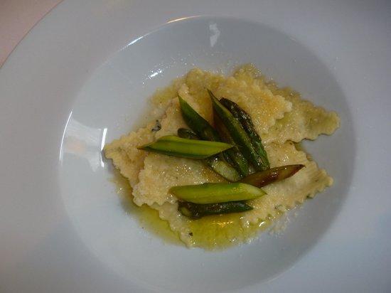 Restaurant Gotthard: Exzellent und hausgemacht: Die frischen Ravioli.