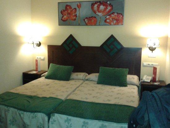 Hotel Spa  La Casa Mudéjar: cama matrimonio