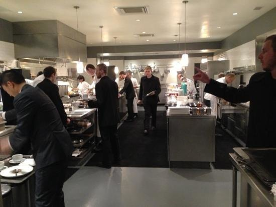 Alinea Kitchen Table Menu
