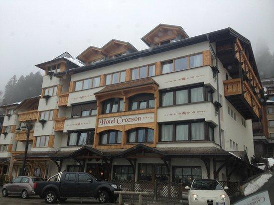 Hotel Crozzon: Esterno Hotel