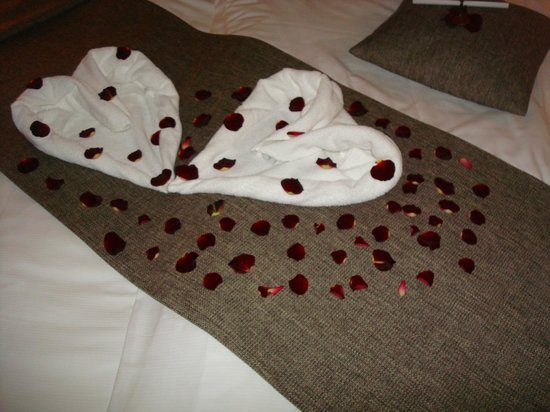 Hotel Sotelia: Bad decorations upon arrival