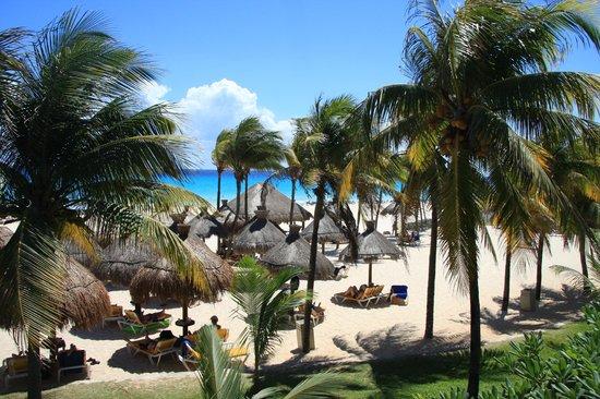 Iberostar Tucan Hotel: widok z pokoju w pierwszej linii przy plaży