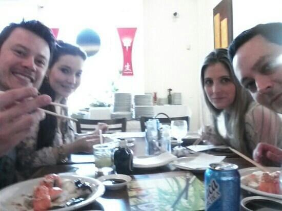 Sushi Hokkai: buffet nos domingos