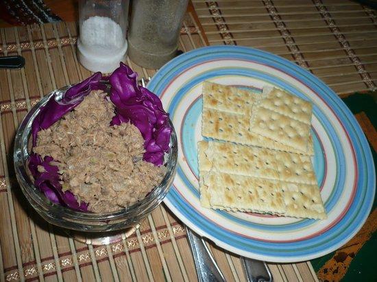 Sapibenega The Kuna Lodge: porciones de comida!