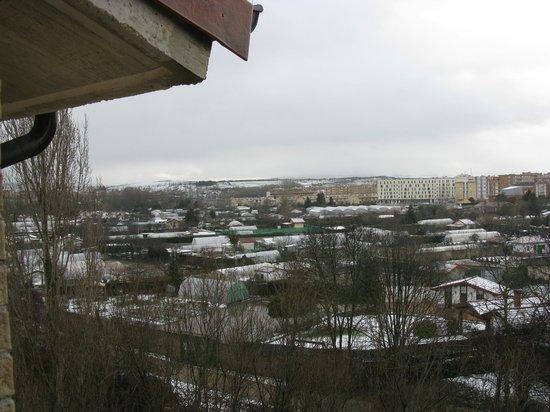 Hotel Iriguibel: Vista desde habitación que dan al rio