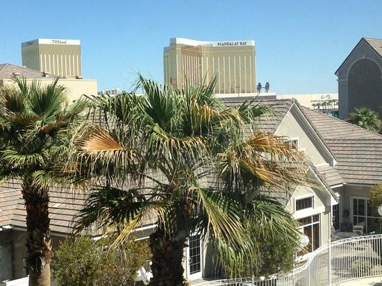 Residence Inn Las Vegas South: view from our room