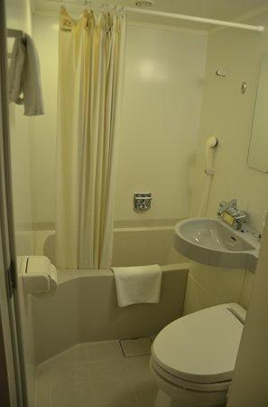 Chisun Hotel Hiroshima : Bathroom