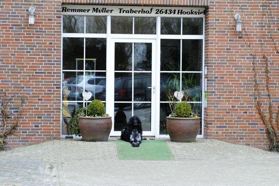 Traberhof : Eingang