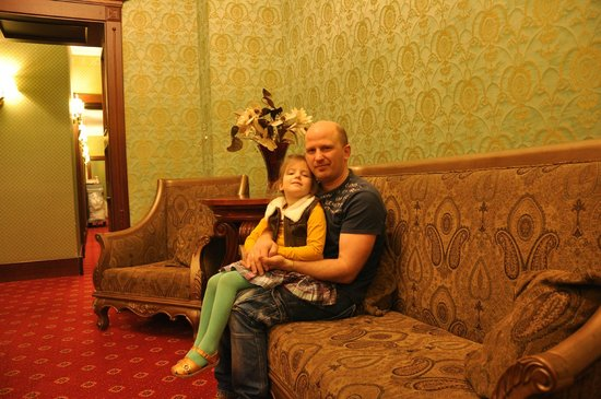 Hotel Garden Palace: Корридор
