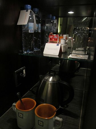 Centro Barsha: complimentary tea/coffee/water