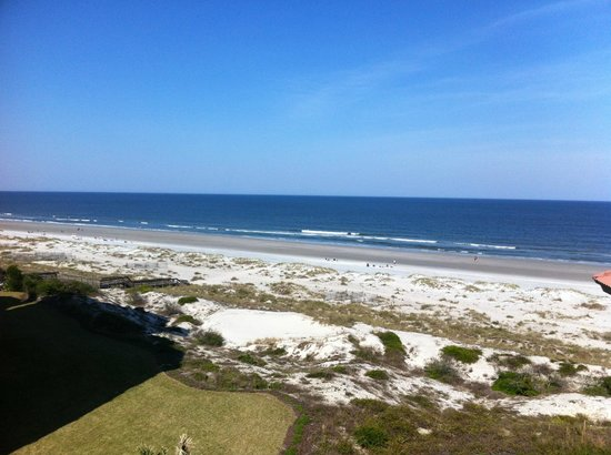 Omni Amelia Island Plantation Resort: view from balcony of villa