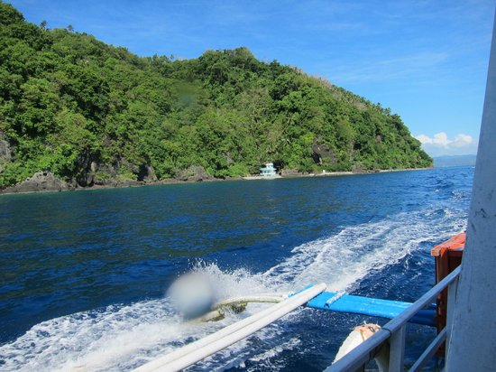 Padre Burgos Castle Resort: The island of Limasawa, underwater sanctuary station
