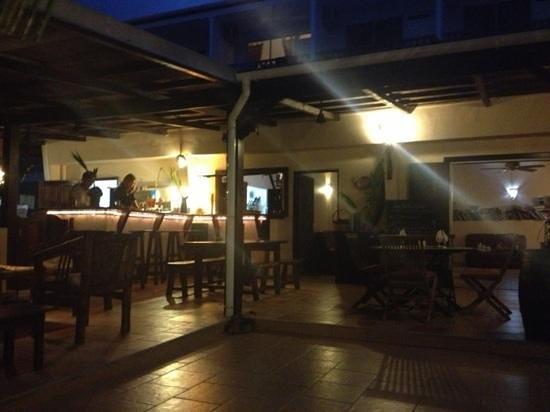 Le M Hotel Marie Galante: resto le soir