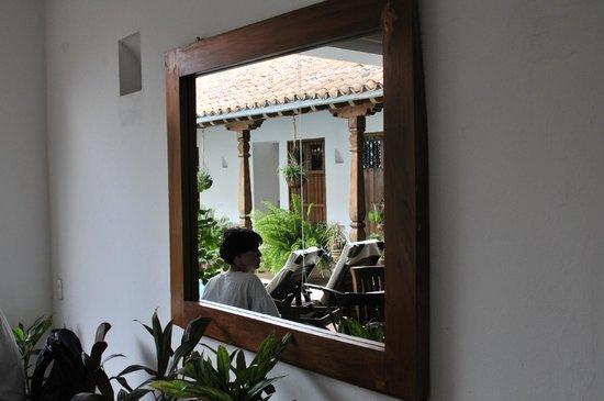 Bioma Boutique Hotel Mompox: interior Patio