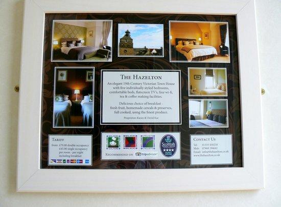 The Hazelton Guest House: The Hazelton Entrance